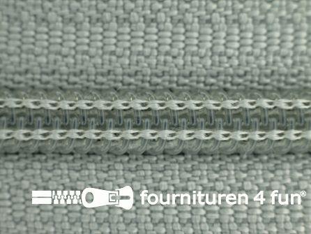 Niet deelbare broek rits nylon 4mm midden grijs