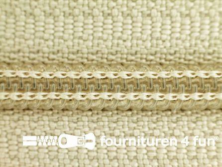 Niet deelbare broek rits nylon 4mm ecru