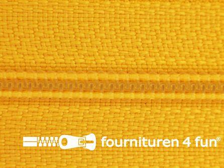 Niet deelbare nylon rits 3mm zonnebloem geel