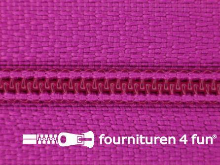 Niet deelbare nylon rits 3mm cyclaam