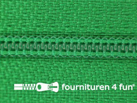 Niet deelbare nylon rits 3mm gras groen