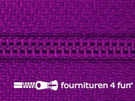 Niet deelbare nylon rits 3mm cyclaam-paars
