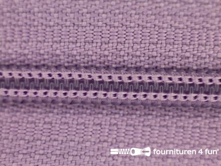 Niet deelbare nylon rits 3mm lila