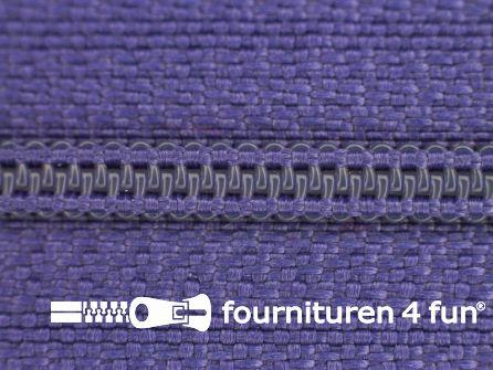 Niet deelbare nylon rits 3mm paars