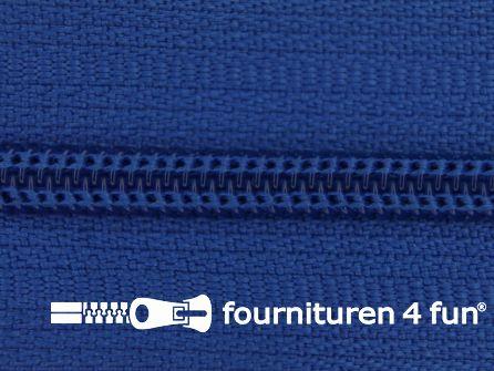 Niet deelbare nylon rits 3mm kobalt blauw