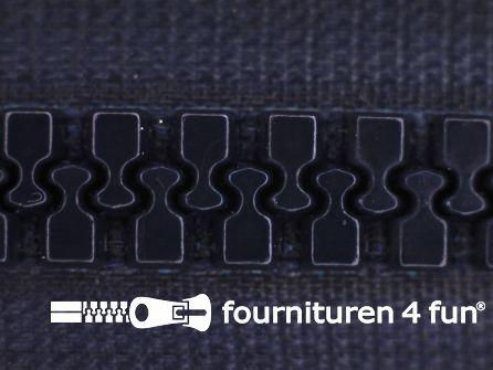 Deelbare bloktand rits 8mm marine blauw
