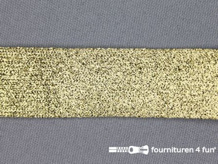 Goud band 24mm lurex