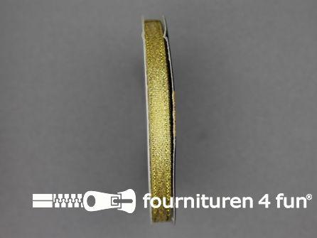 Goud lint 7mm 25 meter