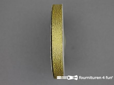 Goud lint 10mm 25 meter