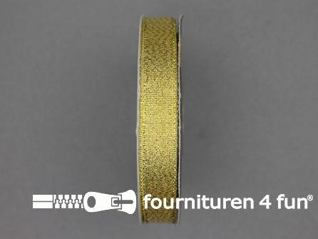 Goud lint 13mm 25 meter
