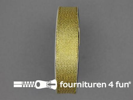 Goud lint 19mm goud 25 meter