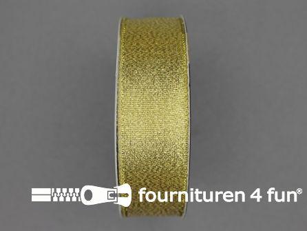 Goud lint 25mm 25 meter