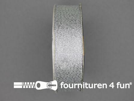 Zilver lint 25mm 25 meter