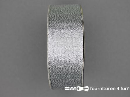 Zilver lint 32mm 25 meter