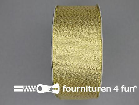 Goud lint 40mm 25 meter