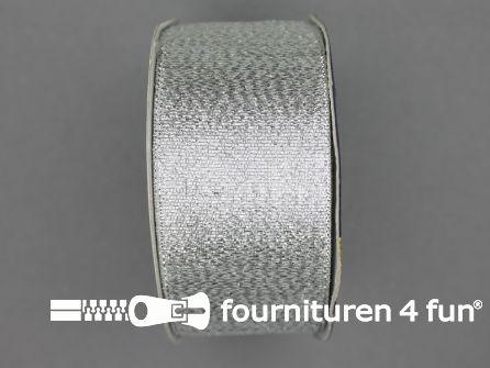 Zilver lint 40mm 25 meter