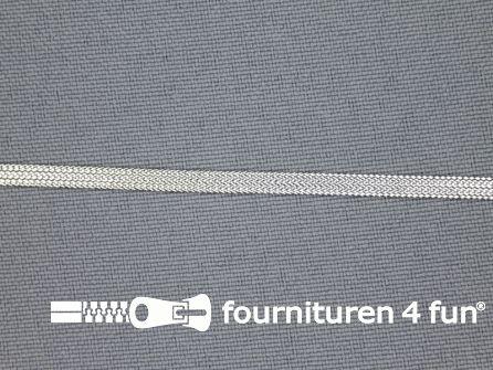 Zilver lint 4mm 25 meter