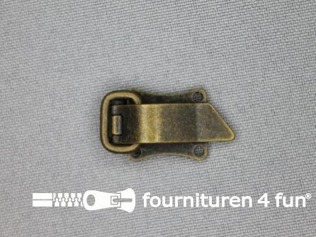 Bontclips 8mm brons