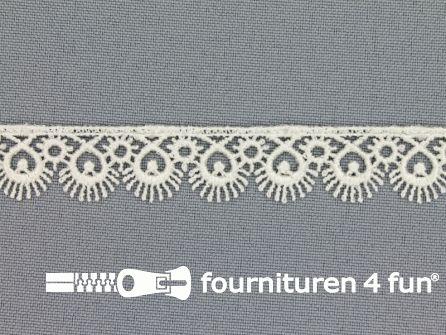 Nylon broderie 15mm off white