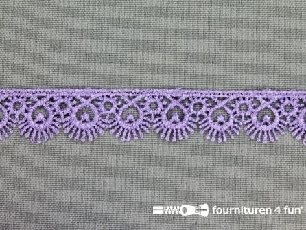Nylon broderie 15mm lila-lavendel
