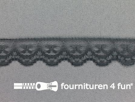 Nylon kant 25mm donker grijs