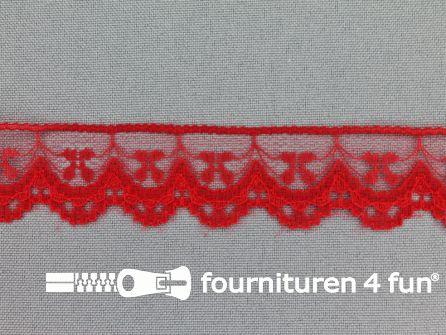 Nylon kant 25mm rood