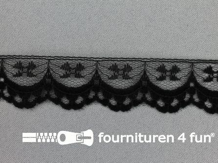 Nylon kant 30mm zwart