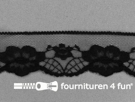 Nylon kant 35mm zwart