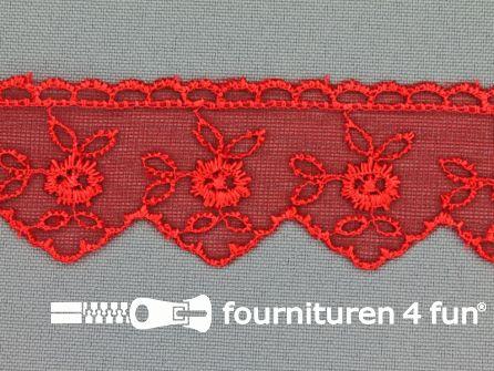Nylon kant 30mm rood