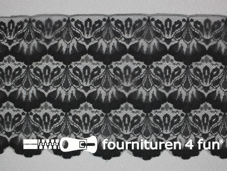 Nylon kant 135mm zwart
