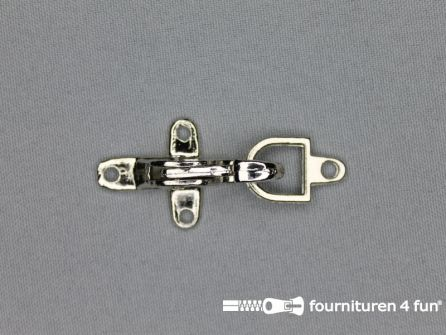 Koffer musketon 25mm chroom