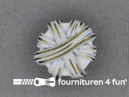 Messing knoop 20mm strik