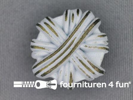 Messing knoop 25mm strik