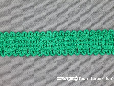 Rol 25 meter nylon galon 14mm emerald groen