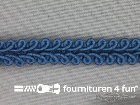 Katoenen galon 11mm donker jeans blauw