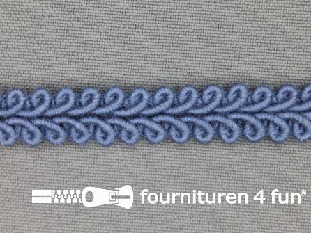 Katoenen galon 11mm licht jeans blauw