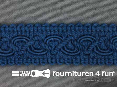 Katoenen galon 20mm donker jeans blauw