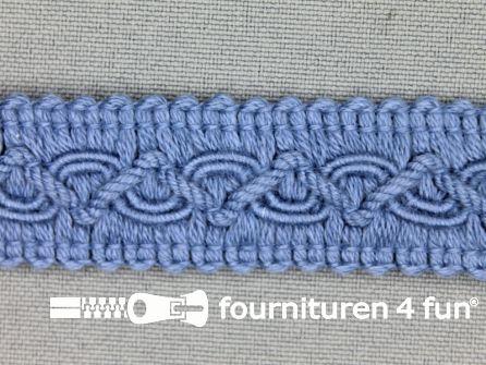 Katoenen galon 20mm licht jeans blauw