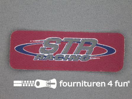 Applicatie 27x77mm rechthoek str racing