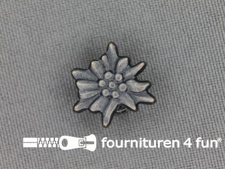 Landhuis knoop 16mm edelweiss