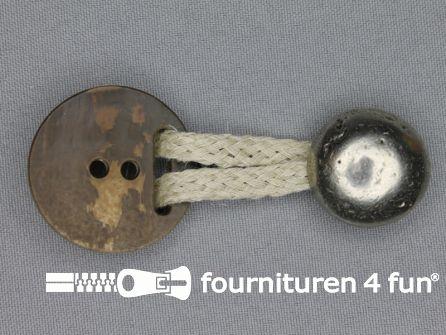 Tiroler sluiting 35mm knoop