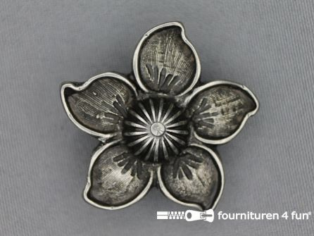 Landhuis versiering 42mm edelweiss