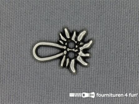 Miederhaak 16x21mm edelweiss