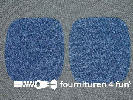 Kniestukken 110mm jeans blauw