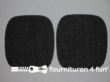 Kniestukken 110mm zwart jeans