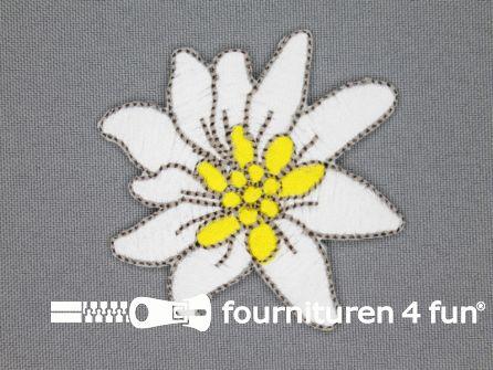 Landhuis applicatie 60x63mm edelweiss