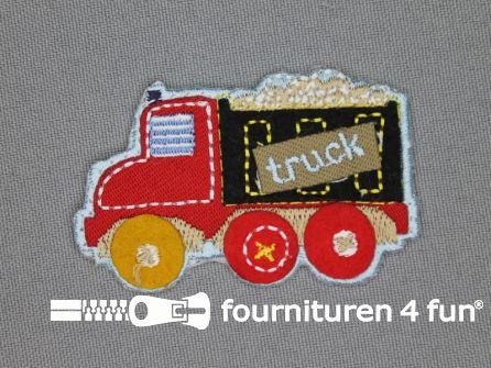Boys applicatie 37x60mm truck