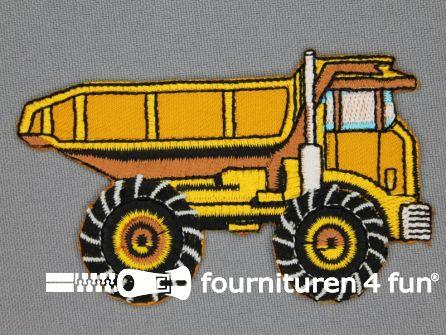 Boys applicatie 54x85mm truck
