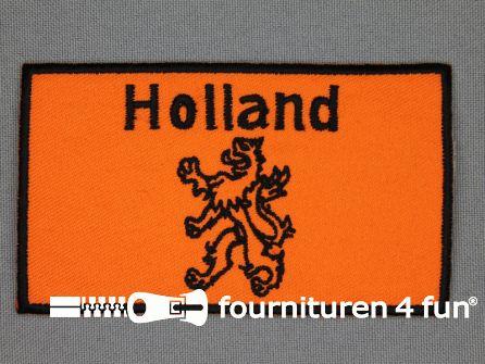 Kids applicatie 56x95mm vlag holland