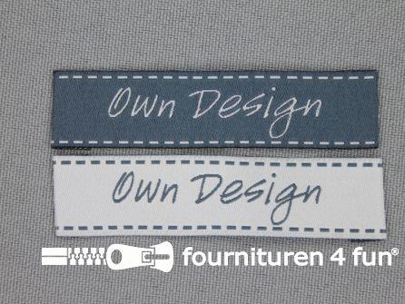 Kids applicatie set own design